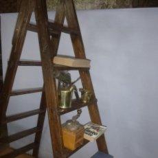 Antiguidades: GRAN ESCALERA BIBLIOTECA O PINTOR. Lote 204193741