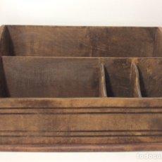 Antigüedades: MUEBLE DE DESPACHO PARA CARTAS,DOCUMENTOS ETC. Lote 204223285