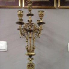 Antigüedades: CANDELABRO BRONCE 5 LUCES. Lote 204281792