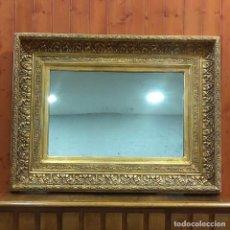 Antigüedades: ESPEJO DORADO DE ESTILO COLONIAL. Lote 204322350