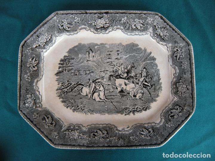 FUENTE OCTOGONAL VALARINO CARTAGENA MURCIA (Antigüedades - Porcelanas y Cerámicas - Cartagena)