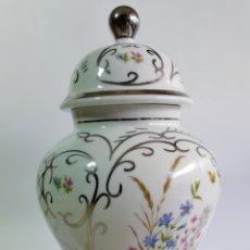 Antiquités: ANTIGUO EXCELENTE TIBOR DE PORCELANA PEYMA. 30 CM.. Lote 204381603