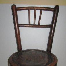 Antigüedades: SILLA SILLITA ANTIGUA THONET MADERA FRANCO TORMO (1865-1941). Lote 204389156