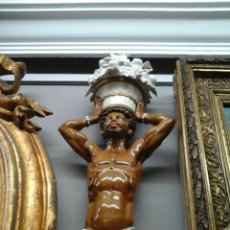Antigüedades: ATLANTE DE PORCELANA ALGORA. Lote 204415217