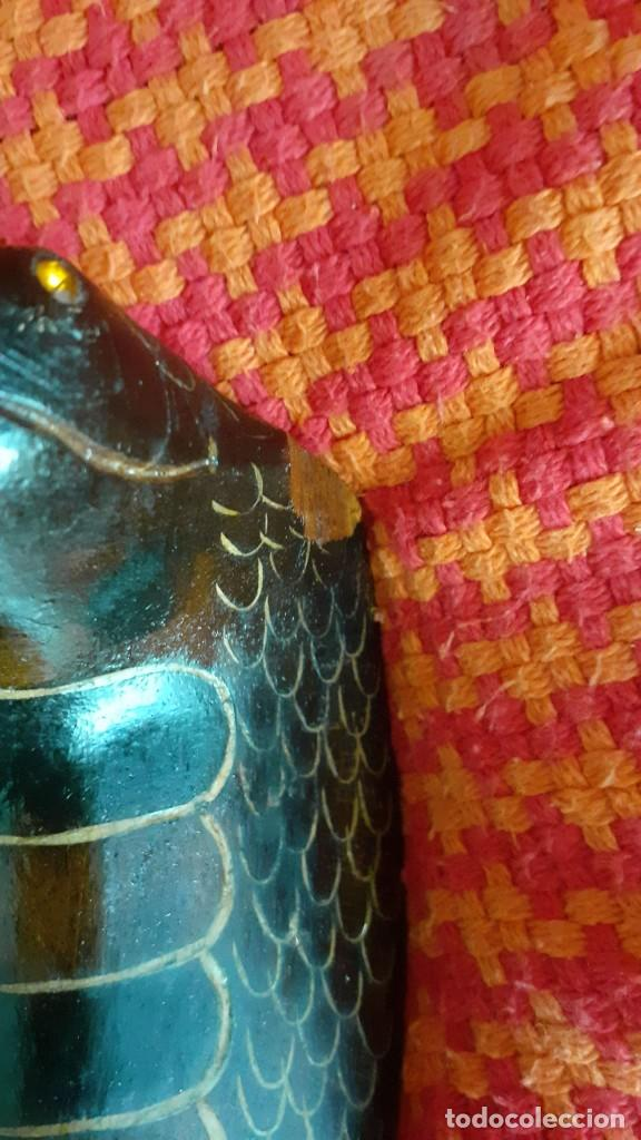 Antigüedades: baston con forma de cobra - Foto 3 - 204416283