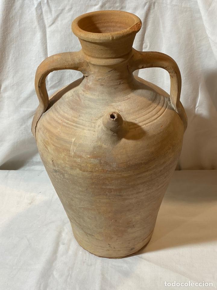 CÁNTARO BOTIJO DE ALCORA (Antigüedades - Porcelanas y Cerámicas - Alcora)