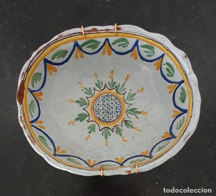 Antigüedades: BONITO BOL DE CERAMICA DE ALCORA - SG XIX - 9,5 X 21 X 17,5 CM. - Foto 4 - 204458753