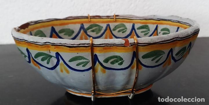 Antigüedades: BONITO BOL DE CERAMICA DE ALCORA - SG XIX - 9,5 X 21 X 17,5 CM. - Foto 2 - 204458753