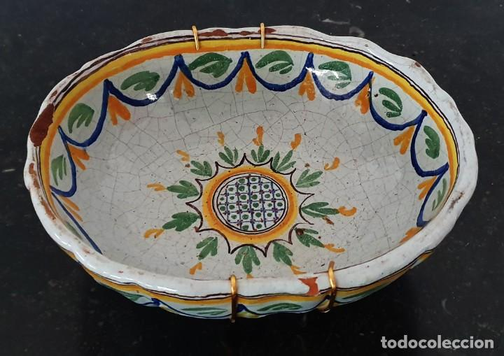Antigüedades: BONITO BOL DE CERAMICA DE ALCORA - SG XIX - 9,5 X 21 X 17,5 CM. - Foto 6 - 204458753