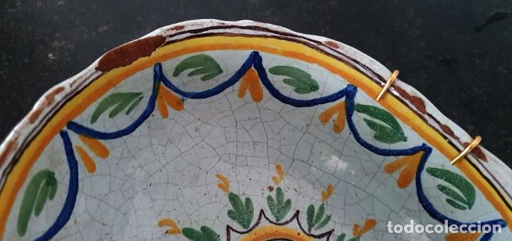 Antigüedades: BONITO BOL DE CERAMICA DE ALCORA - SG XIX - 9,5 X 21 X 17,5 CM. - Foto 8 - 204458753