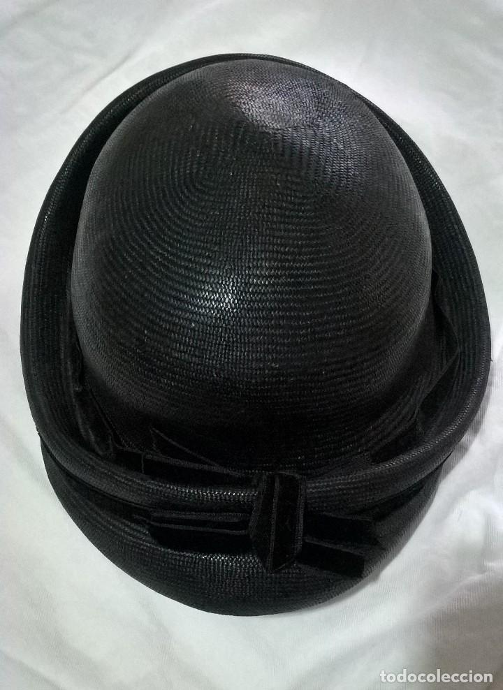 SOMBRERO BOMBÍN. PPIOS S.XX (Antigüedades - Moda - Sombreros Antiguos)