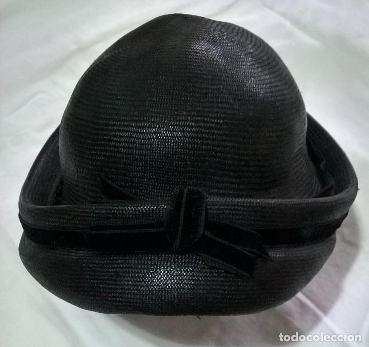 Antigüedades: Sombrero bombín. Ppios S.XX - Foto 2 - 204470173