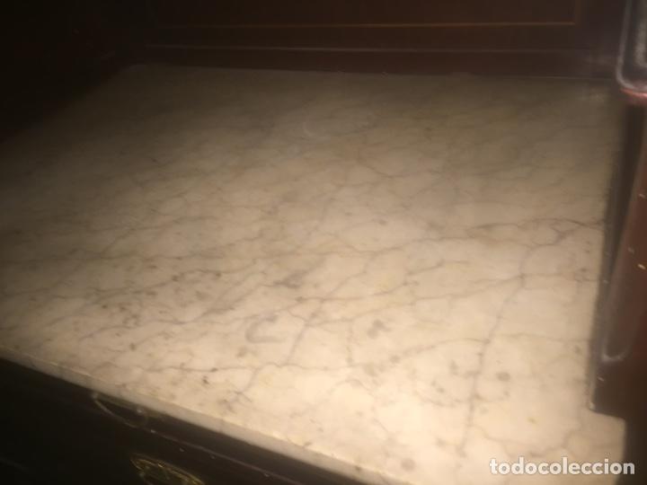 Antigüedades: Nouveau trinchador+aparador+mesa+recibidor +habitación nouveau - Foto 4 - 204484631