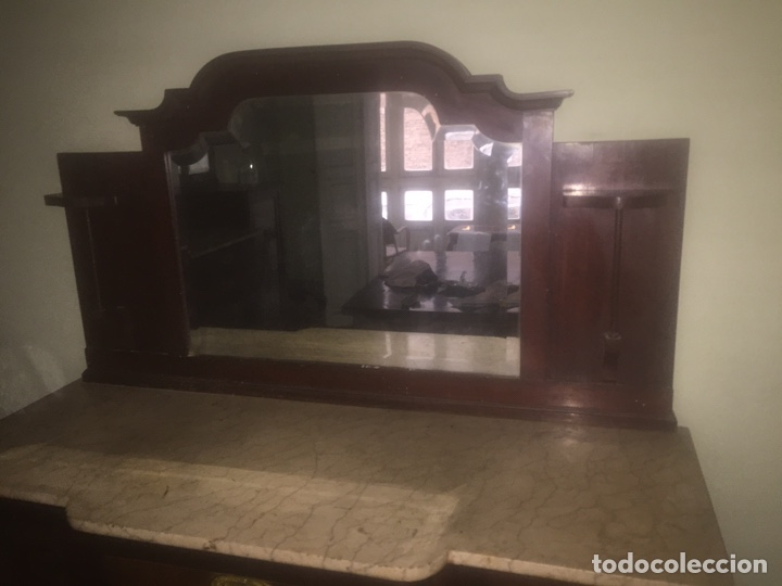 Antigüedades: Nouveau trinchador+aparador+mesa+recibidor +habitación nouveau - Foto 14 - 204484631