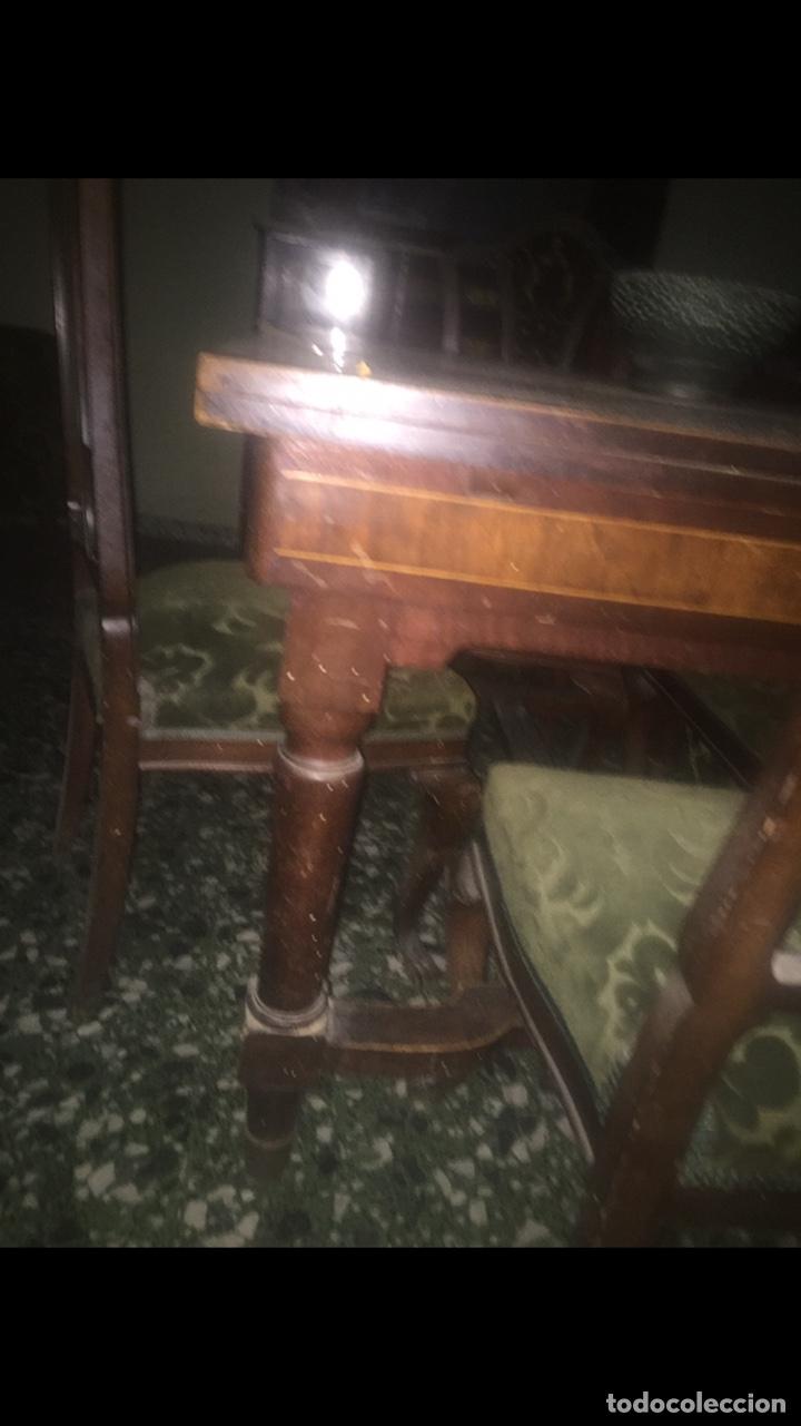 Antigüedades: Nouveau trinchador+aparador+mesa+recibidor +habitación nouveau - Foto 19 - 204484631