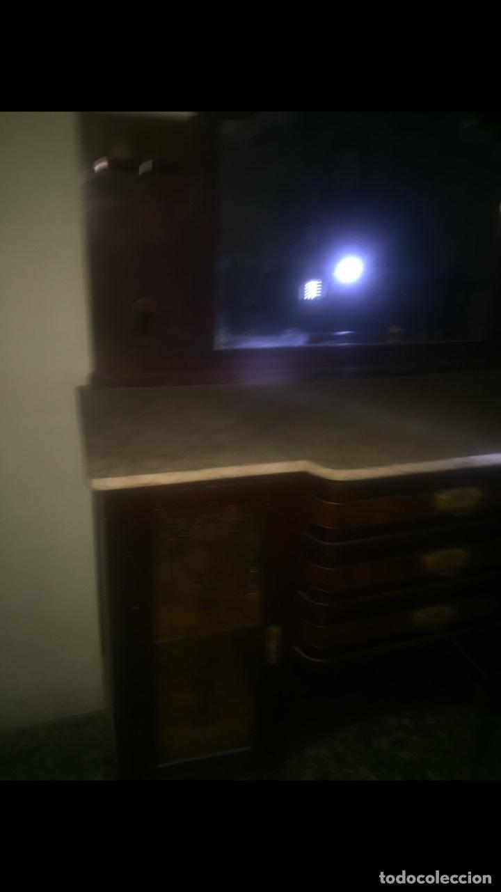 Antigüedades: Nouveau trinchador+aparador+mesa+recibidor +habitación nouveau - Foto 20 - 204484631
