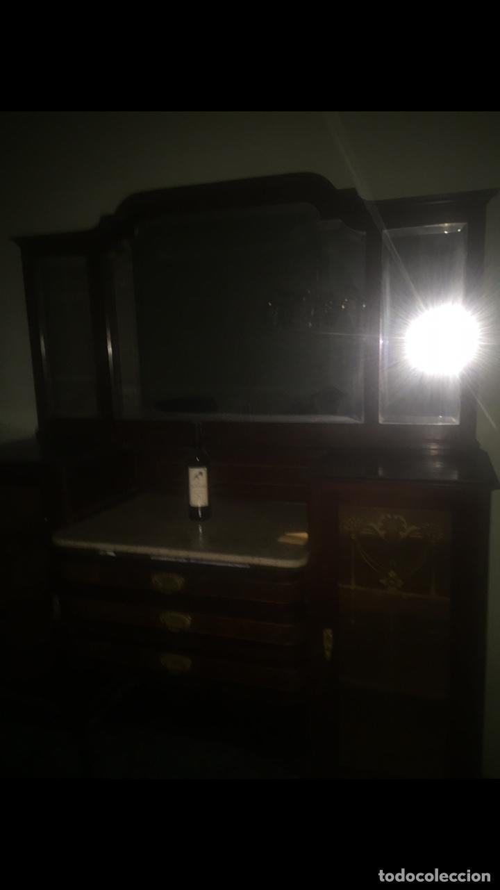 Antigüedades: Nouveau trinchador+aparador+mesa+recibidor +habitación nouveau - Foto 21 - 204484631