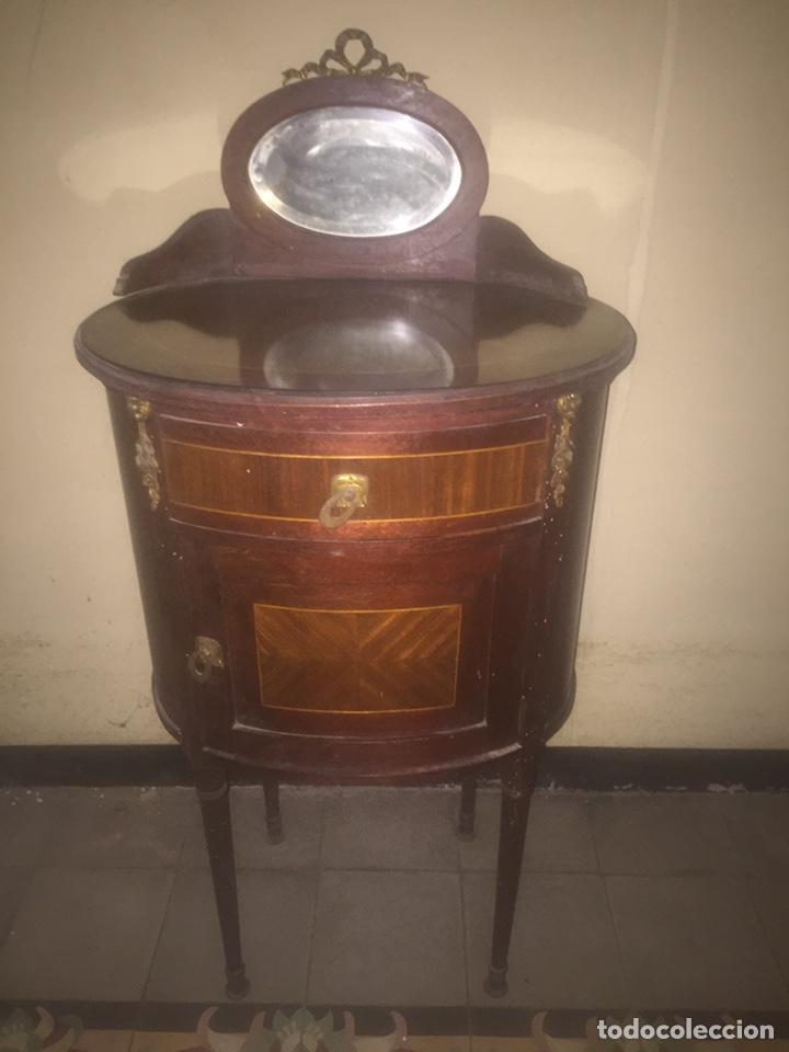 Antigüedades: Nouveau trinchador+aparador+mesa+recibidor +habitación nouveau - Foto 28 - 204484631