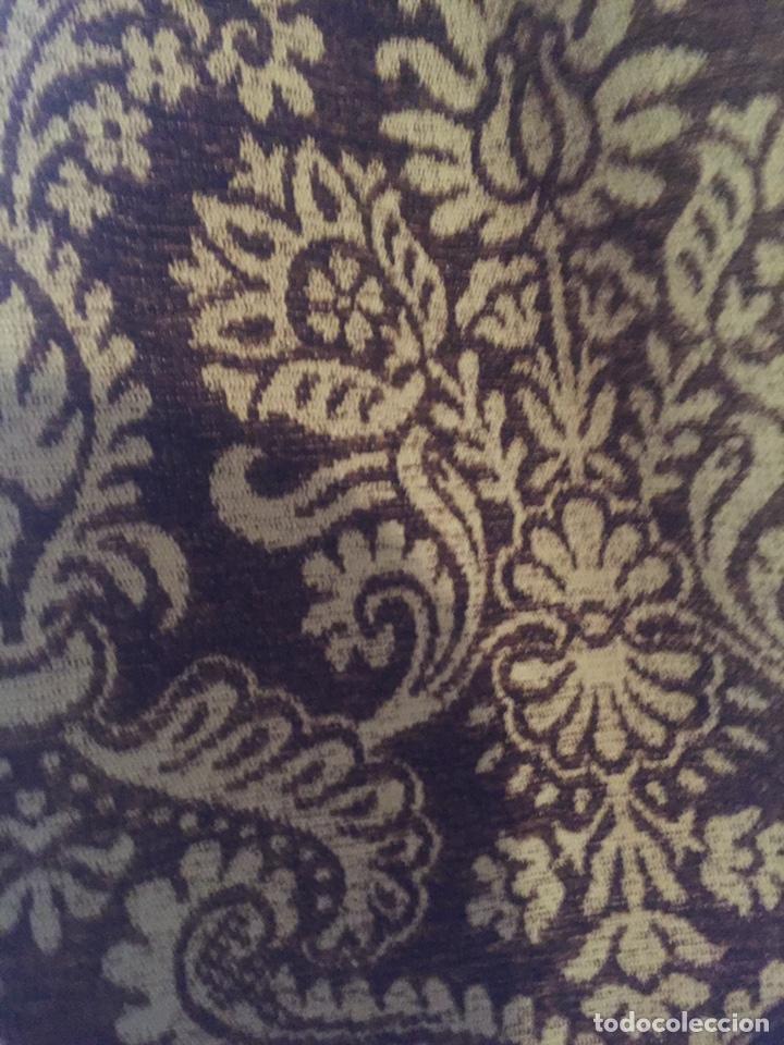 Antigüedades: Antigua cortina,la gotera de arriba no está - Foto 3 - 204485510