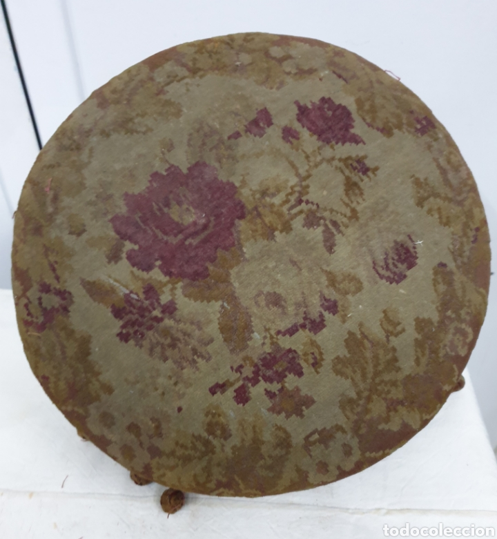 Antigüedades: Asiento banqueta de piano S.XVIII - Foto 2 - 204490280
