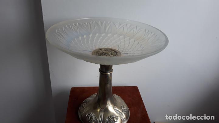 CENTRO DE MESA EN CRISTAL TIPO LALIQUE ,ATR-DECO SOBRE 1930 (Antigüedades - Cristal y Vidrio - Lalique )