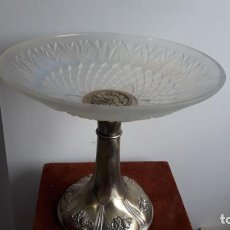 Antigüedades: CENTRO DE MESA EN CRISTAL TIPO LALIQUE ,ATR-DECO SOBRE 1930. Lote 204500752