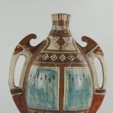 Antigüedades: ANTIGUO CANTARO DE CERAMICA DOS ASAS MUY BONITO. Lote 204529260