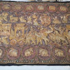 Antigüedades: GRAN TAPIZ INDIA, MAHARAJÁS. Lote 204534281