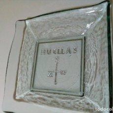 Antigüedades: BANDEJA DE CRISTAL.EXPOSICION HUELLAS MURCIA. Lote 204535645