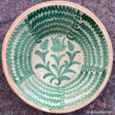 Antigüedades: BONITO LEBRILLO FAJALAUZA 64 CM. Lote 204607835