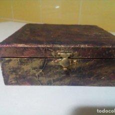 Antigüedades: BONITA CAJA MUY DECORATIVA. Lote 204609983