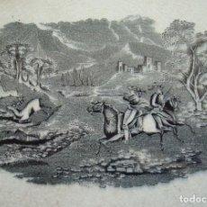 Antigüedades: FUENTE DE LOZA. OCHAVADA LLANA. FÁBRICA DE LA AMISTAD. CARTAGENA, MURCIA. SIGLO XIX.. Lote 204629028