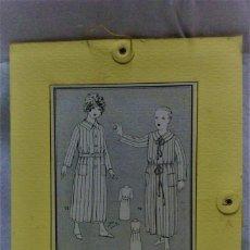 Antigüedades: PATRONES GRADUABLES MARTÍ .BATA BAÑO / SALTO DE CAMA PARA NIÑO/A. INST DE USO Y PLANCHA PATRONES. Lote 204630560