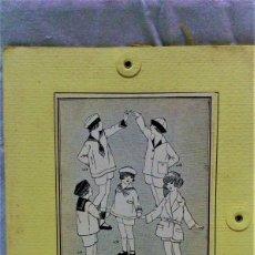 Antigüedades: PATRONES GRADUABLES MARTÍ.TRAJES Y ABRIGO PARA NIÑOS.INST DE USO Y 3 PLANCHAS PATRONES. Lote 204630980