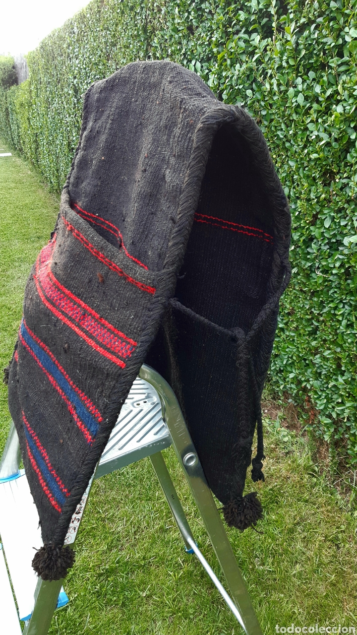 Antigüedades: Alforjas de lana años 50 - Foto 2 - 203729430