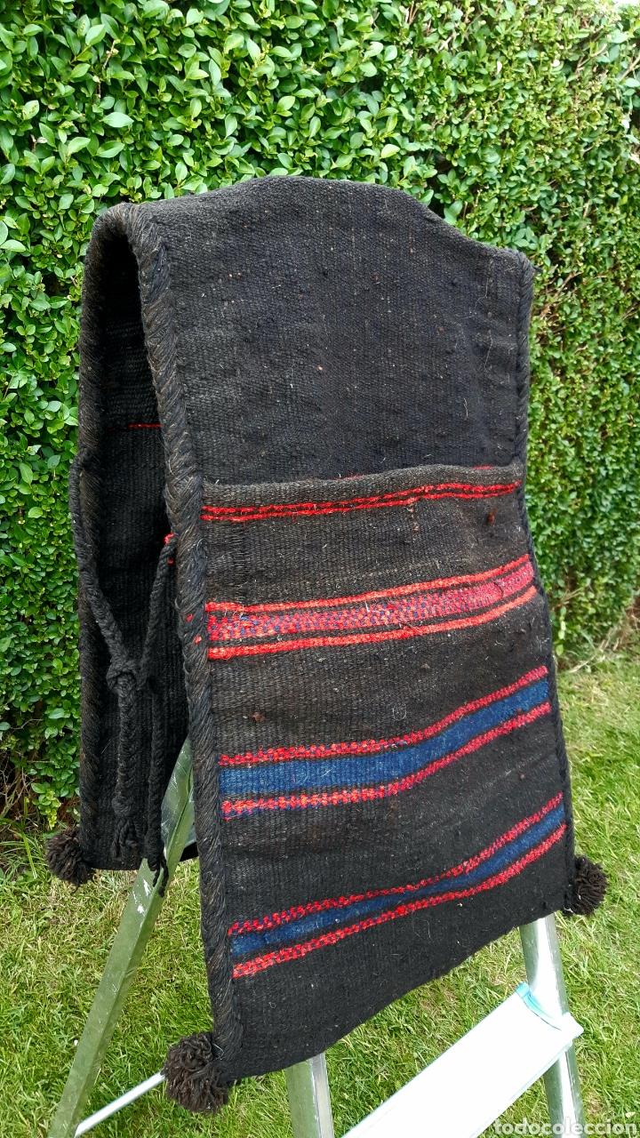 Antigüedades: Alforjas de lana años 50 - Foto 3 - 203729430