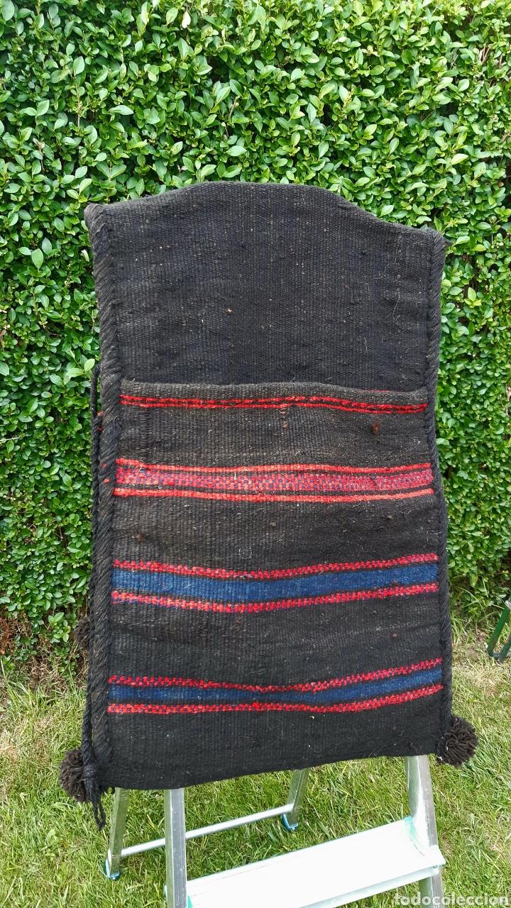 Antigüedades: Alforjas de lana años 50 - Foto 4 - 203729430