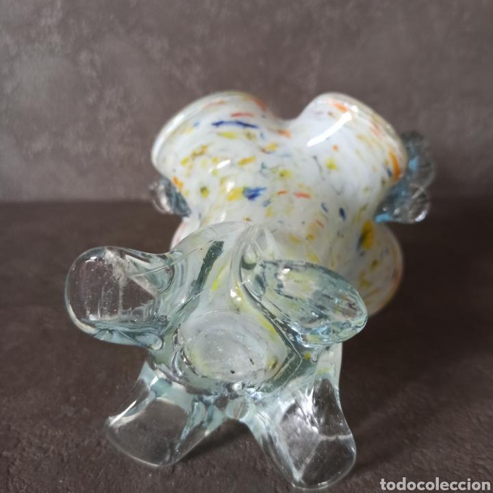 Antigüedades: Cesta de cristal de Murano * Centro - Foto 6 - 196042006