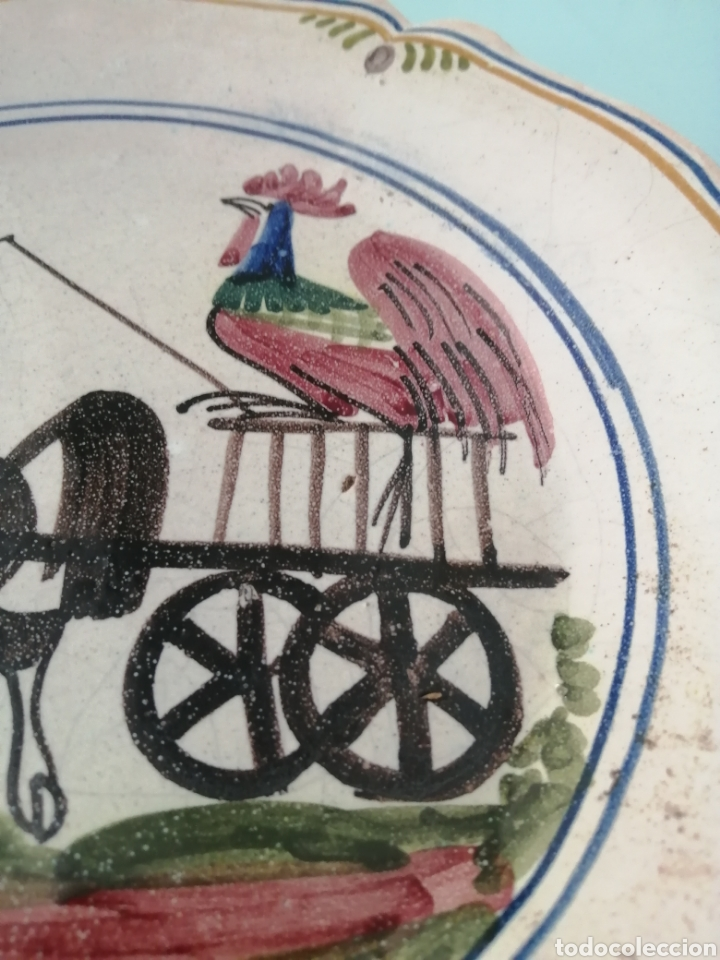 Antigüedades: PLATO DE NAVIDAD 1980 CERÁMICA CATALANA MONFONT. ED. LIMITADA. NUMERO 397. REALIZADO PINTADO A MANO - Foto 5 - 204645263
