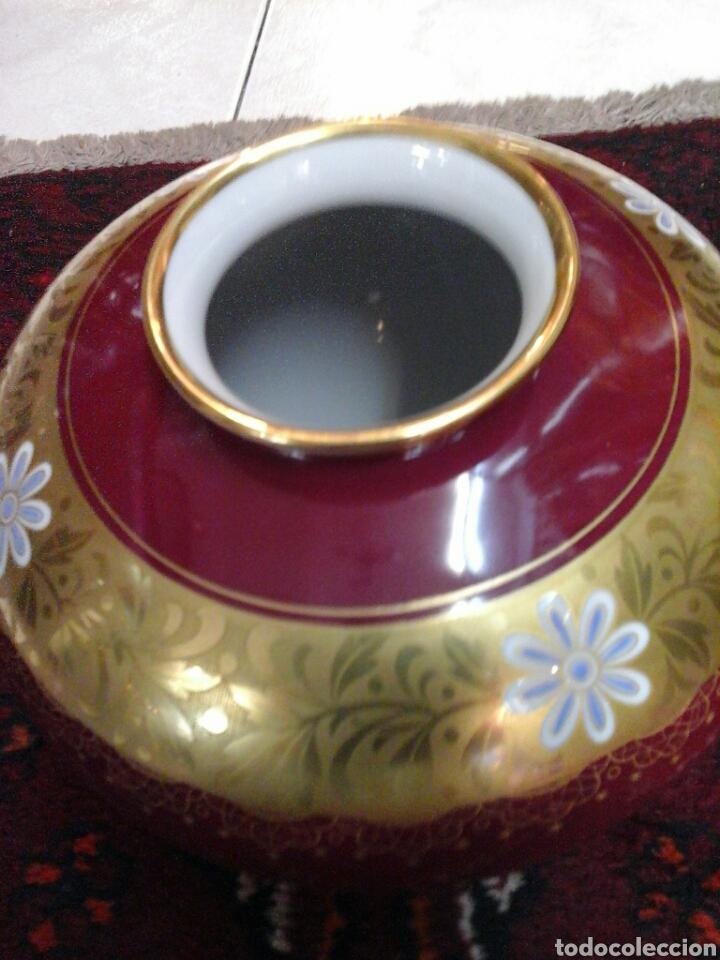 Antigüedades: Jarron porcelana alemana - Foto 2 - 204661251