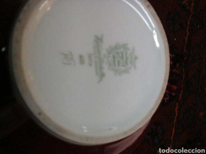 Antigüedades: Jarron porcelana alemana - Foto 4 - 204661251