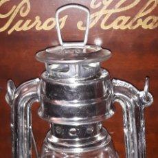 Antigüedades: LAMPARA DE ACEITE. Lote 204665005