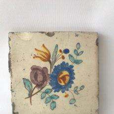Antigüedades: AZULEJO VALENCIANO DE FINALES DEL SIGLO XIX.. Lote 204665686