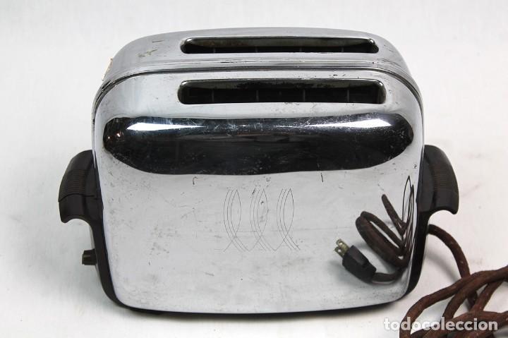 Antigüedades: ANTIGUA TOSTADORA TOAST MASTER -AÑOS 60--COLECCIONISMO- - Foto 3 - 204714235