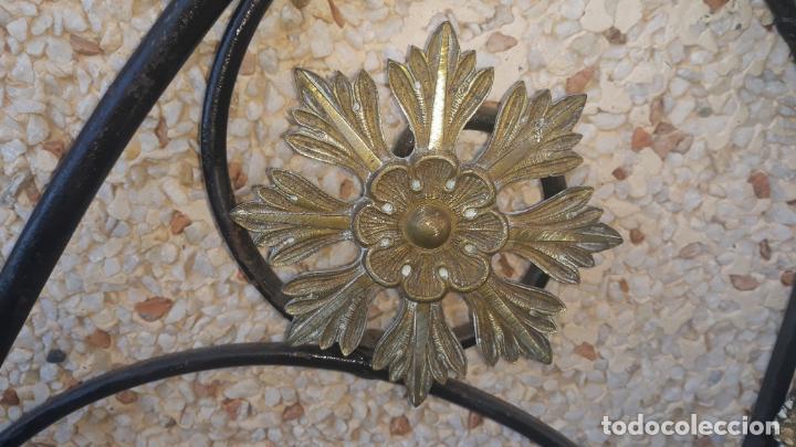 Antigüedades: cabezal de cama mediados del siglo XIX,corte isabelino fantastico trabajo - Foto 2 - 204746770