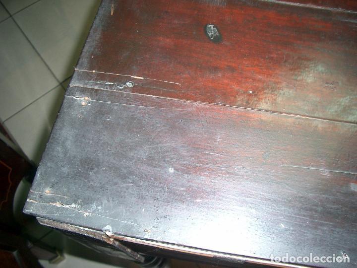 Antigüedades: consola isabelina autentica - Foto 7 - 204757862