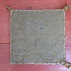Antigüedades: CARPETA PARA CORPORAL - BORDADA - C.1800. Lote 204778365