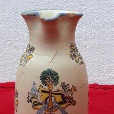 Antigüedades: ANTIGUA JARRA EN CERAMICA DE TALAVERA DE LA REINA ( TOLEDO ). Lote 204784448