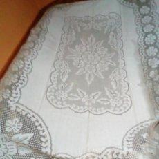 Antigüedades: BONITA COLCHA PARA CAMA DE MATRIMONIO. Lote 204785298