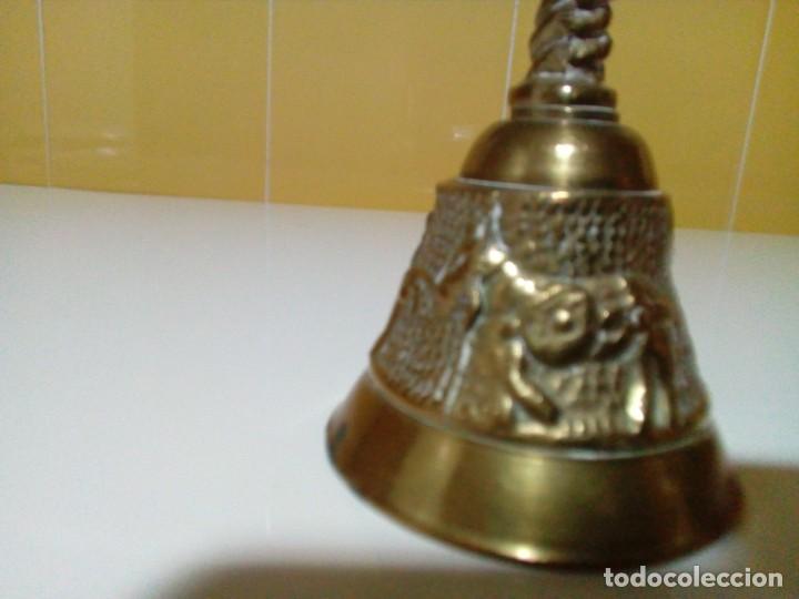 Antigüedades: CAMPANA DE BRONCE - Foto 2 - 204845001